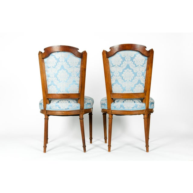 Antique French Settee With Chairs Seating Set - 3 Pc. Set For Sale - Image 9 of 13