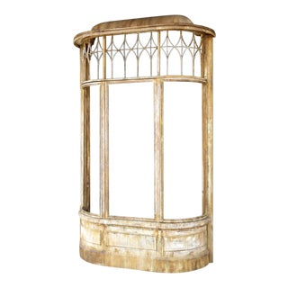 French Main Street Facade Display Cabinet For Sale