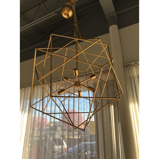 Boho Chic Currey Company Aerial Chandelier For Image 3