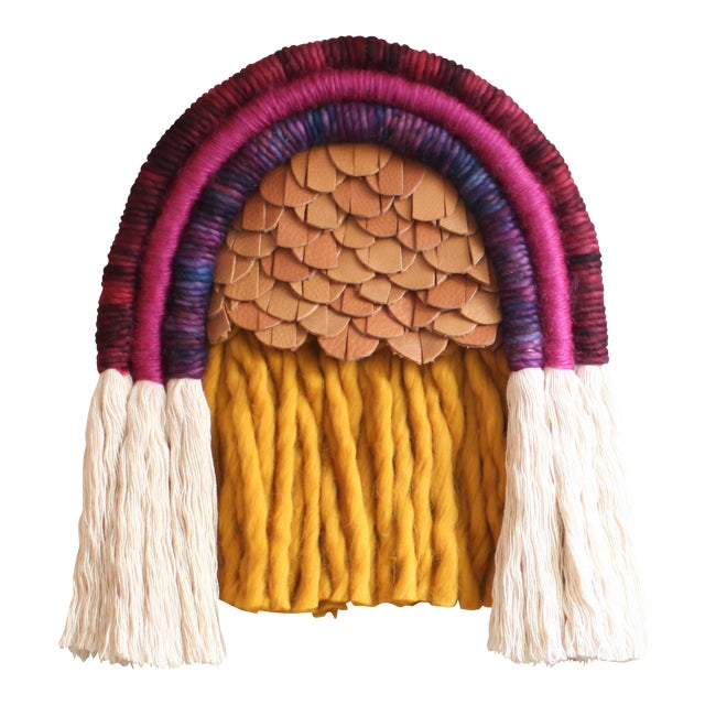 Mandi Smethells Fiber Art Wall Hanging - Image 1 of 3