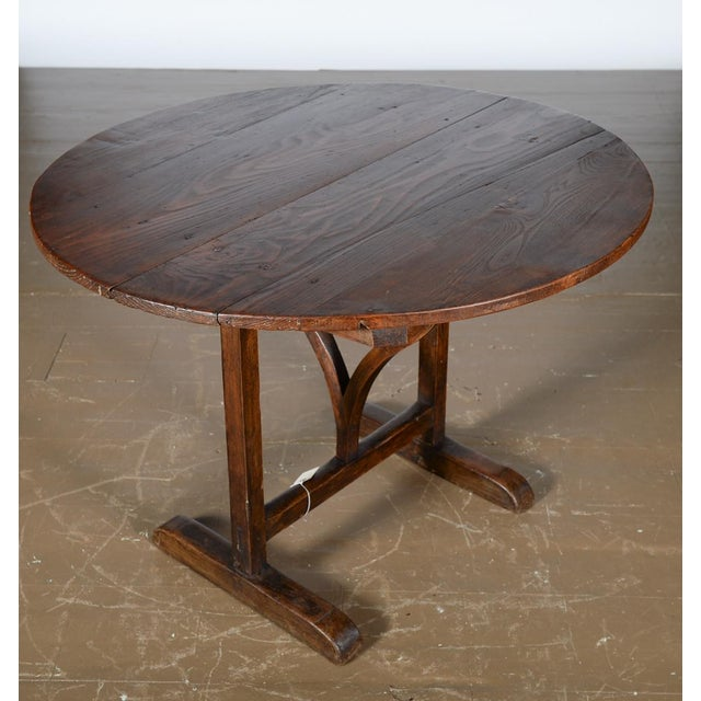 Antique 19th Century French Country Dining Table - Image 2 of 10
