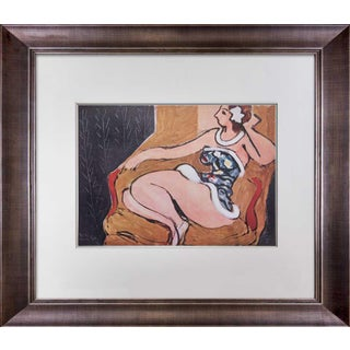"1940s Vintage Henri Matisse ""Danseuse Assise...1942"" Limited Signed Lithograph Print For Sale"