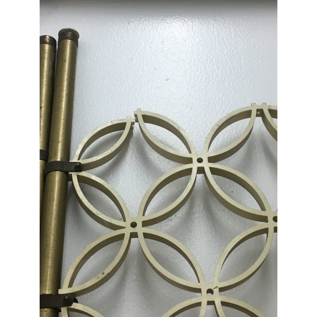 Metal Mid-Century Modern Room Divider Panels - a Pair For Sale - Image 7 of 13