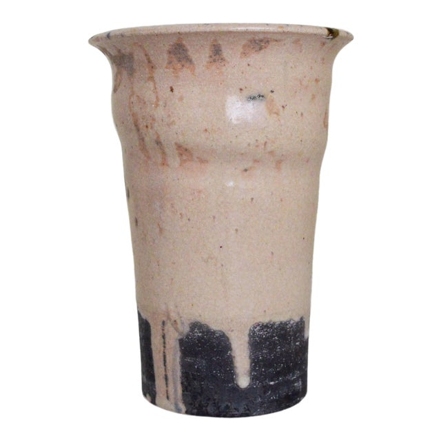 George Roby Tall Pale Pink Vessel For Sale