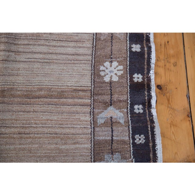 """Distressed Oushak Carpet - 7' X 9'1"""" For Sale In New York - Image 6 of 11"""