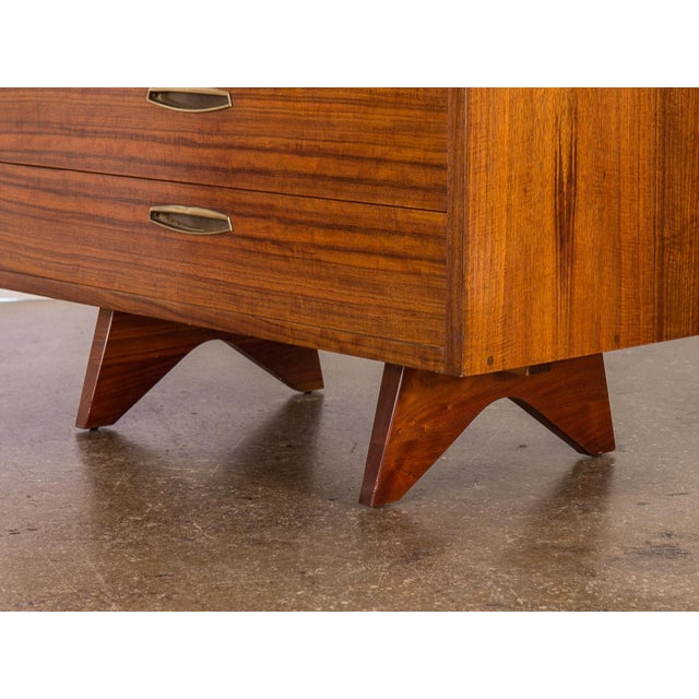 George Nakashima Origins Tall Dresser for Widdcomb For Sale - Image 9 of 11
