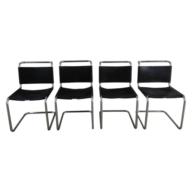 "Marcel Breuer ""Spoleto"" Chairs for Knoll - S/4 - Image 1 of 10"
