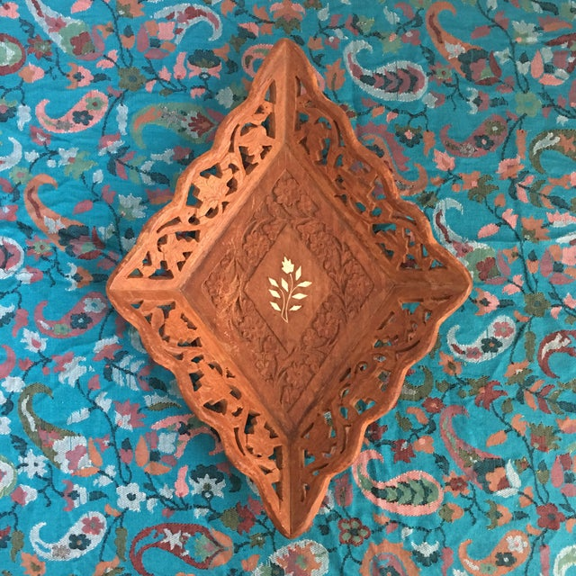 1940s Vintage Syrian Decorative Tray For Sale - Image 9 of 9