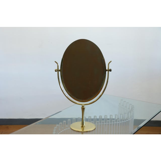 Wishbone Vanity Mirror by Charles Hollis Jones For Sale - Image 11 of 12