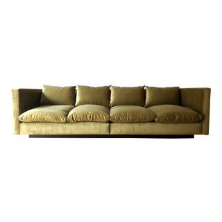Foundation Studio Modern Platform Sofa For Sale