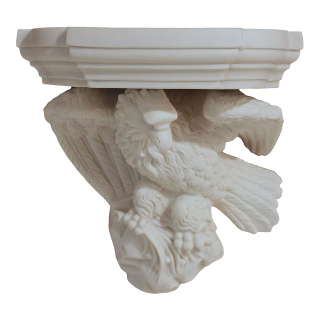Mid-19th Century Parian Eagle Wall Bracket For Sale