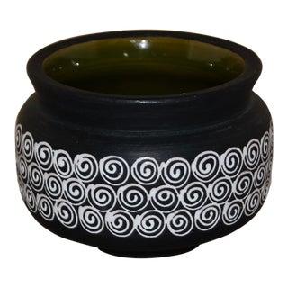 Bitossi for Rosenthal Netter Mid-Century Italian Pottery Bowl For Sale