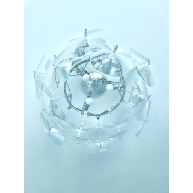 Hope Modernist Ceiling Light With Reflective Prisms by Luceplan, Italy 2018 For Sale - Image 12 of 13