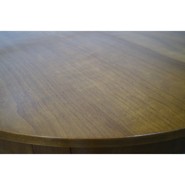 Kindel Vintage Regency Directoire Style Round Extension Dining Table - Image 8 of 10