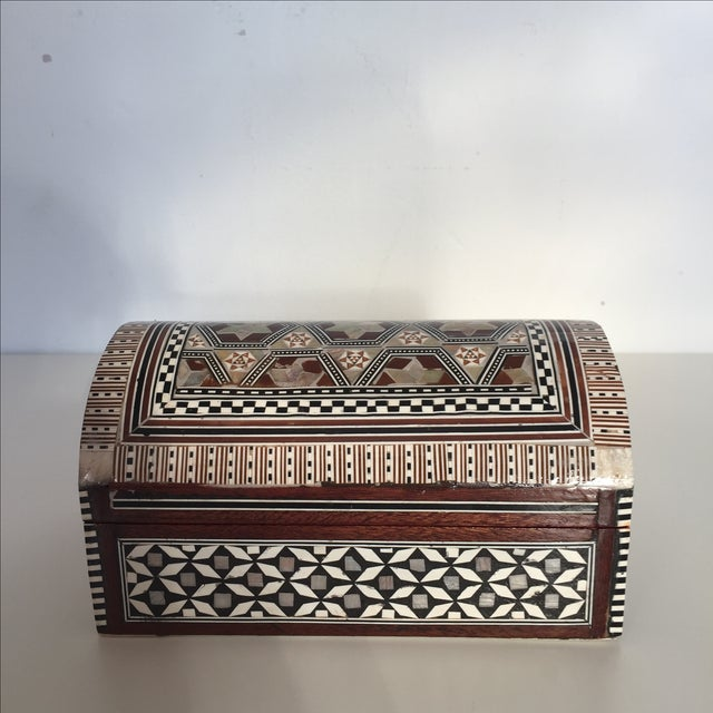 Bone & Mother of Pearl Inlaid Box - Image 3 of 5
