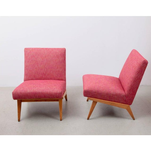 Mid-Century Modern Pair of Jens Risom 21 Chair 1940s USA for Knoll Associates For Sale - Image 3 of 7