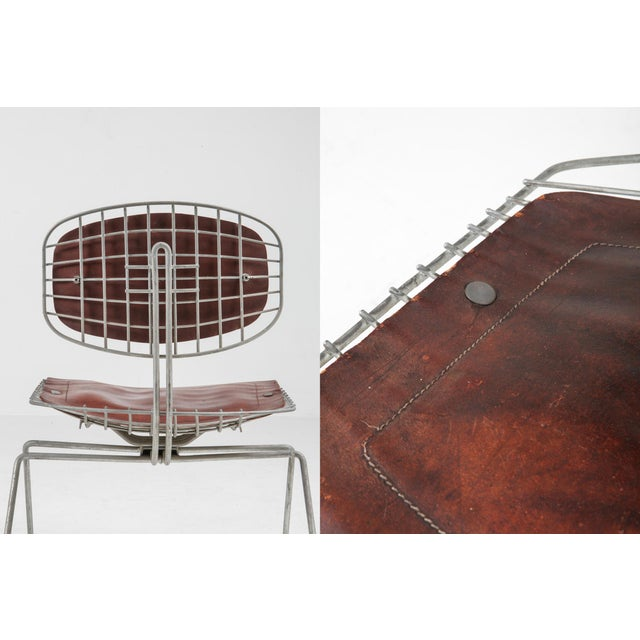 Centre Pompidou Beauburg Chairs Selected by Jean Prouvé For Sale - Image 11 of 12