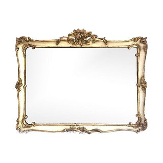 18th Century French Diamond Dust Mirror For Sale