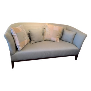 Mitchell Gold Contempoary Celadon Sofa