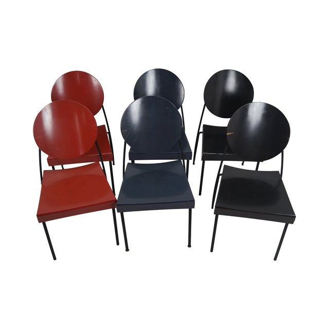 Dakota Jackson Dining Chairs - Set of 6 For Sale