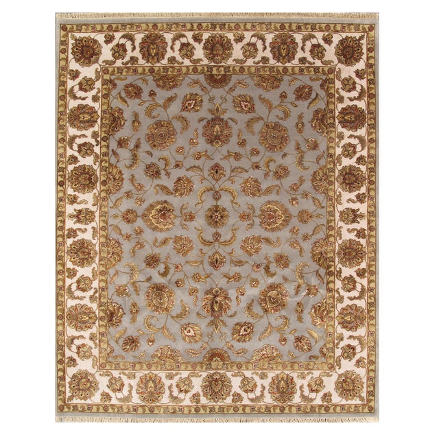 """Pasargad Agra Collection Rug - 8' X 9'10"""" - Image 1 of 3"""