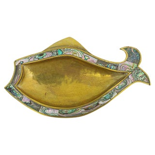Inlaid Abalone Catchall For Sale