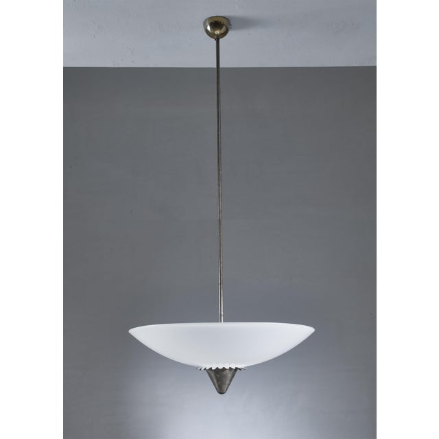 Mid-Century Modern Lisa Johansson-Pape 1090 Pendant for Orno, Finland, 1950s For Sale - Image 3 of 6
