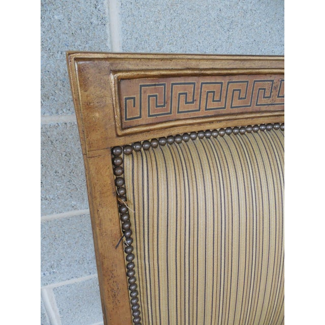 Ferguson Copeland Neoclassical Regency Style Chairs - Set of 8 - Image 9 of 11