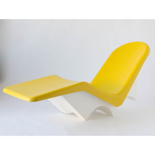 California-Made Fiberglass Patio Lounge Chairs - A Pair - Image 3 of 11