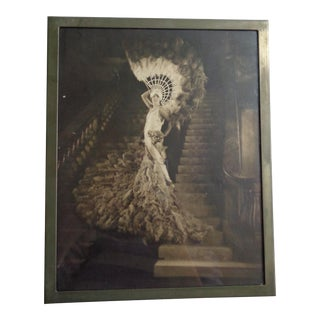 Vintage 1920s Photograph of French Actress Mistinguett For Sale