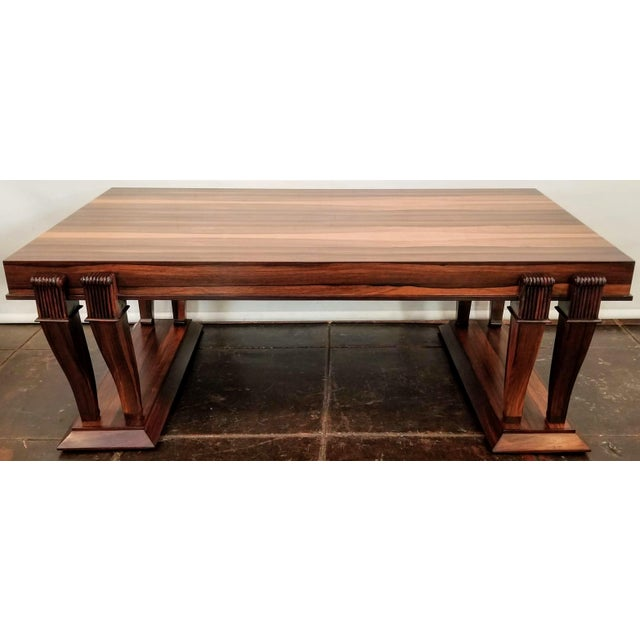 Traditional Style Bolivian Rosewood Coffee Table For Sale - Image 10 of 10