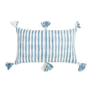 Faded Indigo Stripe Antigua Pillow