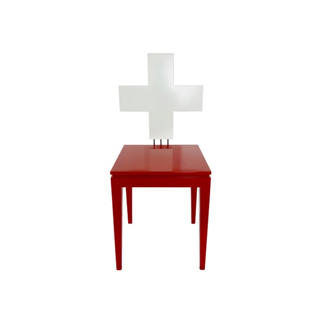 """Modern Switzerland's 700th Independence Day """"Schwiiz"""" Chair For Sale - Image 3 of 11"""