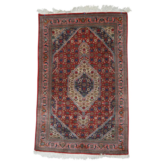 "Hand Knotted Persian Rug - 3'3"" X 5'2"" - Image 1 of 5"