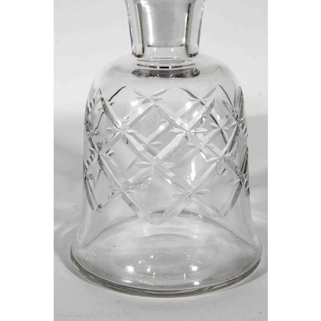 Stamped Baccarat vintage cut crystal decanter set. Excellent condition. The decanter measure 9.5 inches high x 5 inches...