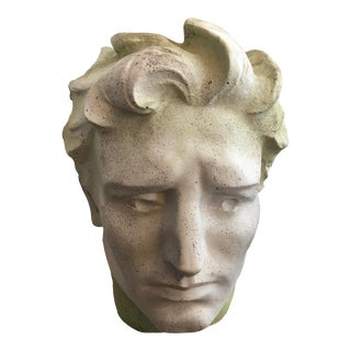 Modern Stone Fiberglass Head For Sale