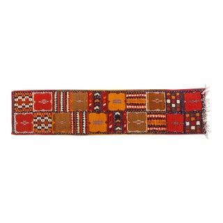 Berber Rug - Runner Handwoven in Morocco With Organic Dye For Sale