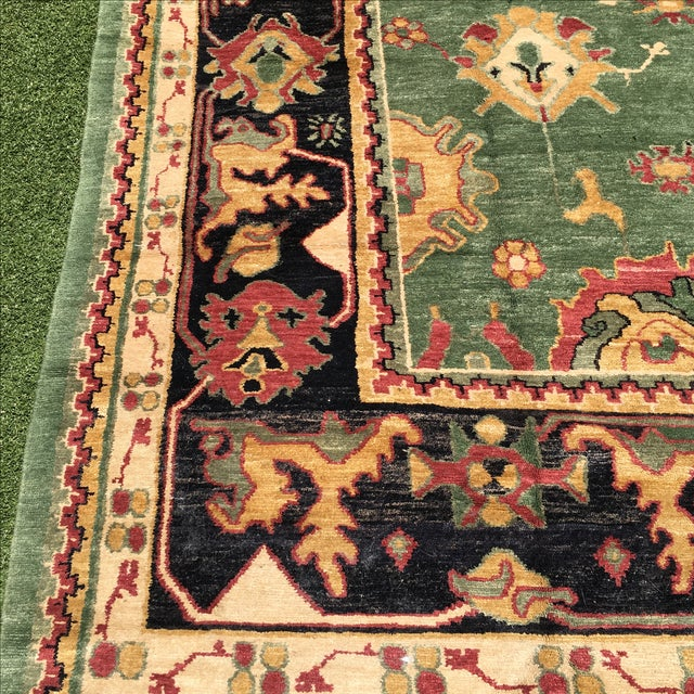 Large Handknotted Nepalese Rug - 9′ × 11′9″ - Image 10 of 11