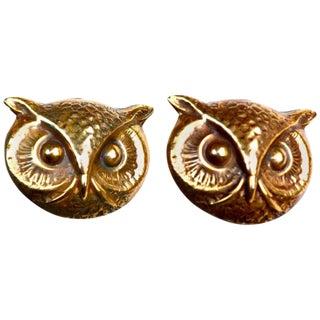 Joseff Owl Earrings For Sale