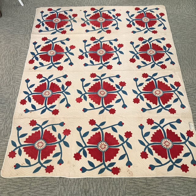 Vintage American Classic Quilt - Image 2 of 9