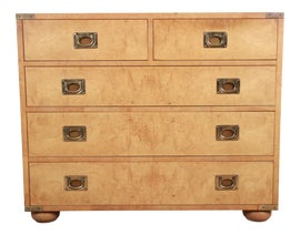 Image of Burlwood Dressers and Chests of Drawers