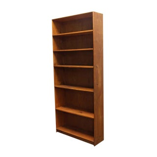 Reclaimed Tall Wooden Bookcase For Sale