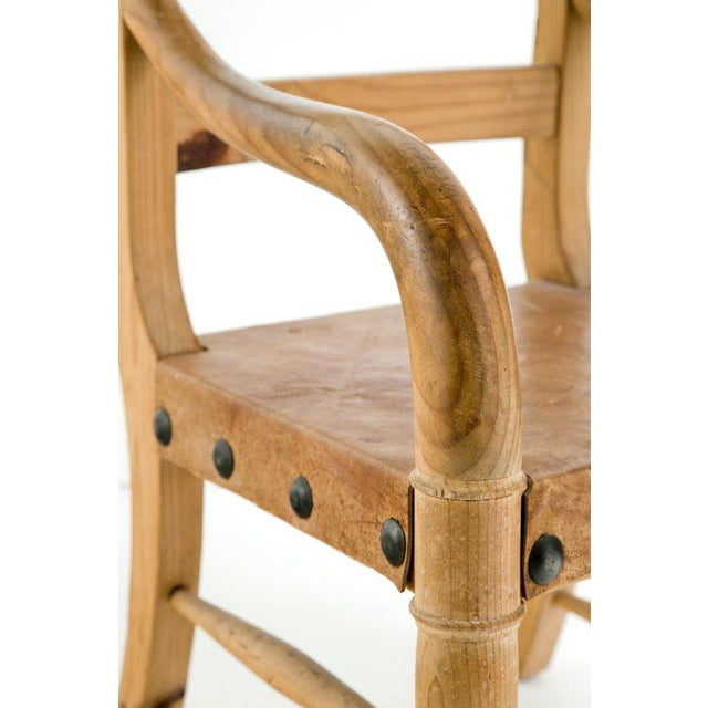 Michael Taylor Rustic Michael Taylor Pine Chair For Sale - Image 4 of 9