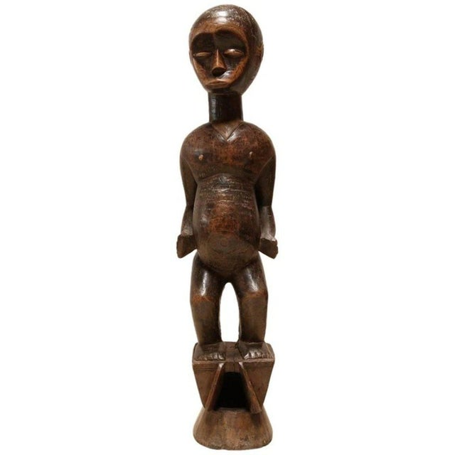 """""""Fertility"""" African Sculpture by the Lobi People For Sale - Image 11 of 12"""