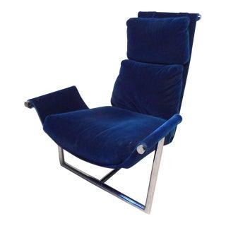 Unique Vintage Modern Sling Chair For Sale