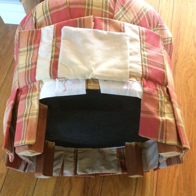 Ideas About Plaid Ottoman Tufted Dailytribune Chair