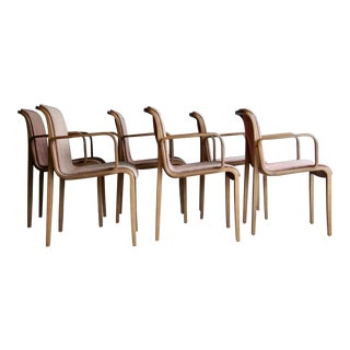 Bill Stephens for Knoll Dining Chairs, Set of 6 For Sale
