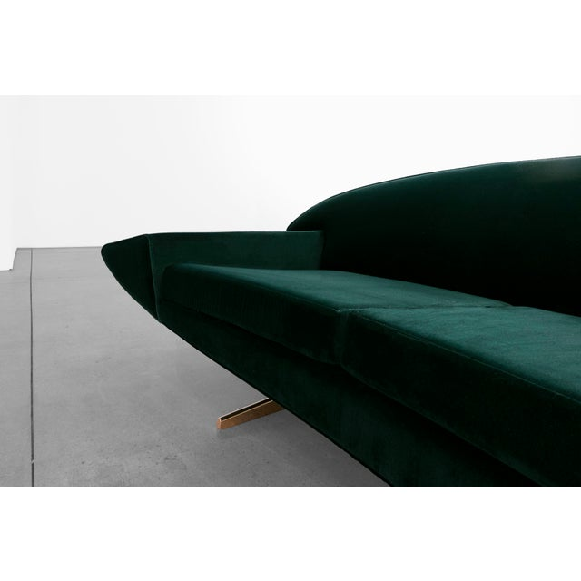 "1950s Johannes Anderson, ""Capri"" Sofa, C. 1950 - 1959 For Sale - Image 5 of 10"