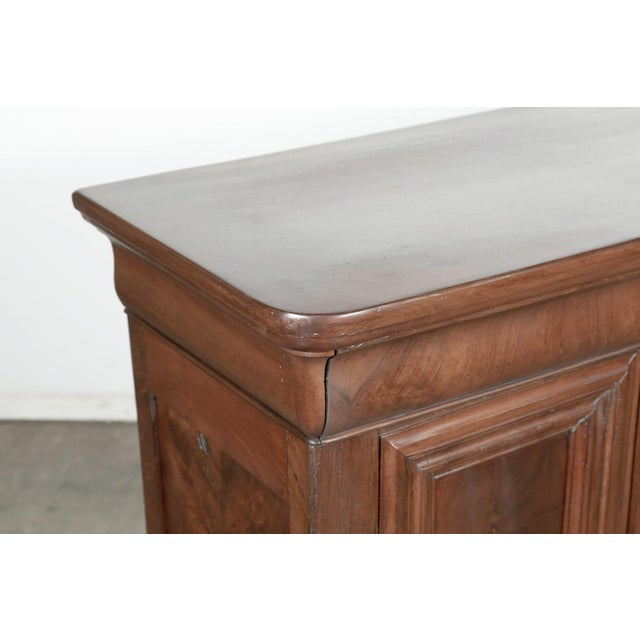 Late 19th Century 19th Century French Louis Philippe Enfilade Buffet With Bookmatched Front For Sale - Image 5 of 11