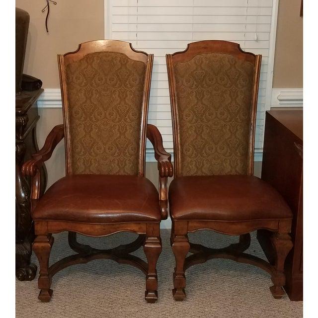 Stanley Dining Room Sets: Stanley Grande Balustrade Pedestal Dining Room Chairs